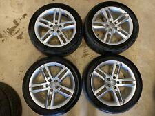 "18"" Genuine Audi A6 C7 4G S Line Alloy Wheels 245/45ZR18 Tyres  4G0601025BL"