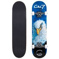 Cal 7 Valor Complete 8 Inch Popsicle Skateboard 5.25 Trucks 100A Wheels Deck