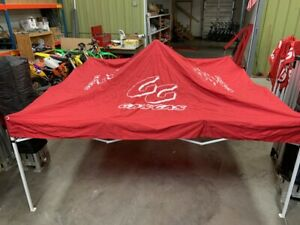 Red GasGas Complete Canopy 10X10