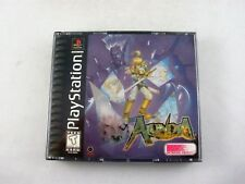 Sony Playstation 1 PS1 Alundra Complete with Map Excellent Disc!
