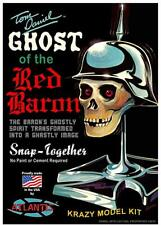 ATLANTIS 220 Tom Daniel's Ghost of the Red Baron Figure Head Snap Fit FREE SHIP