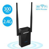 WiFi Range Extender Super Booster 300Mbps Superboost Boost Speed Wireless 2.4GHz