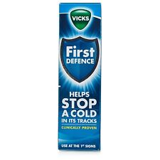 3x Vicks First Defence 15ml Helps Stop A Cold in its Tracks