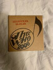 The Who 2006 Encore Series Hershey PA 11-27-06 2 CDs