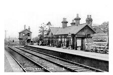 pt0722 - Brompton Railway Station , Yorkshire - photo 6x4