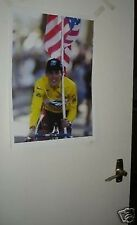 Lance Armstrong Great New Colour Door Poster