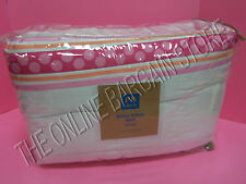 Pottery Barn Teen Bubble Ribbon Bed Quilt Full Queen FQ Pink Ric Rac Dorm Room