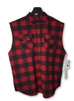 Fear of God FOG Collection 2 Red Sleeveless Flannel L