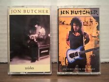 Jon Butcher 2 Cassette Lot 1987 Wishes + 1989 Pictures From The East