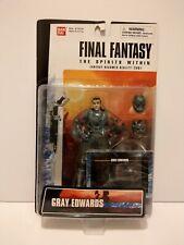FINAL FANTASY GRAY EDWARDS THE SPIRITS WITHIN   BANDAI 2000.