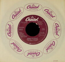 """ANNE MURRAY """"IT'S ALL I CAN DO/If A Heart Must Be.."""" CAPITOL A-5023 (1981) 45rpm"""