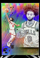 Coby White 2019-20 Panini Chronicles Essentials Rookie RC Chicago Bulls