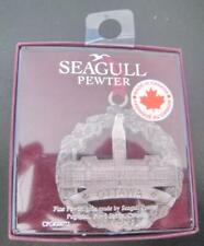 The Ottawa Parliament Building Canada Seagull Pewter Medal New Sealed