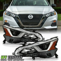 For 2019-2020 Altima Halogen Factory Projector Headlights Headlamps Left+Right