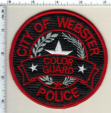 City of Webster Police (Texas) Color Guard Shoulder Patch from 1992