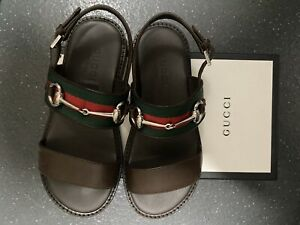 Boys Gucci Sandals Size 10