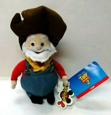 "Disney Mousektoys Toy Story 2  1999  10"" Stinky Pete Prospector Doll w/Tags HTF"