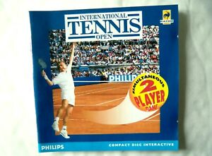 56034 Instruction Booklet - International Tennis Open - Philips CD-i (1994) 810