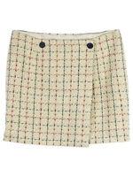Bonpoint Patterned Wool Blend Mini Skirt