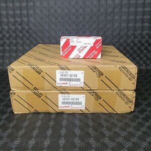 LEXUS CT200H REAR BRAKE DISCS & PADS GENUINE OEM PART 42431-52160 & 04466-76012