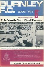 Away Teams Coventry City FA Cup Final Football Programmes