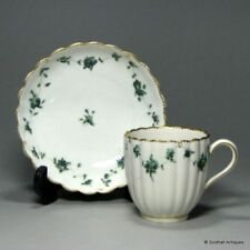 Green Cups & Saucers Tableware Date-Lined Ceramics