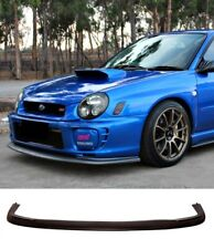 For Subaru Impreza Bugeye Models 01+ | Front Splitter Spoiler Lip Plastic New UK