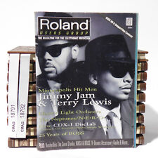 Jimmy Jam and Terry Lewis Roland Users Group Magazine V19 n2 ELO The Neptunes