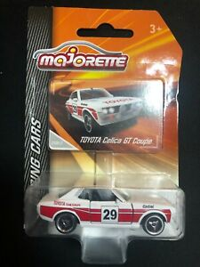 Majorette Toyota Celica GT Coupe Racing No.29 White diecast Car