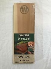 WESTERN CEDAR GRILLING PLANKS Pack of Two 2 - NEW SEALED