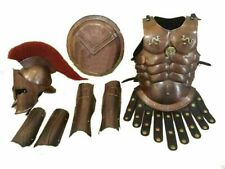 Medieval 300 spartan helmet, muscle armor, arm guard, leg guard & Shield War