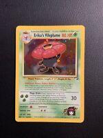 Erika's Vileplume 5/132 Gym Heroes Rare Holo Pokemon Card 2000 WOTC LP