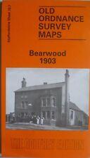 Old Ordnance Survey Map Bearwood near Birmingham 1903 Sheet 72.7  New
