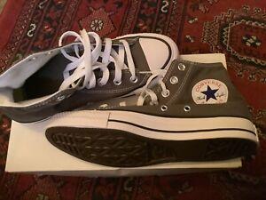 Size UK 4.5 - Converse Chuck Taylor All Star High Top Grey.