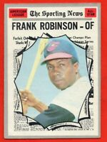 1970 Topps #463 Frank Robinson All-Star VG-VGEX CREASE HOF Baltimore Orioles
