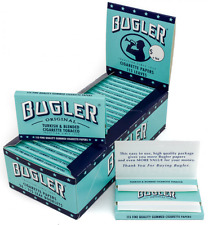 Full Box 24x Packs ( Bugler 115 Leaves Per Pack ) Cigarette Rolling Paper Papers