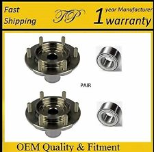 Front Wheel Hub & Bearing Kit For Toyota Tundra (4WD 4x4 AWD) 2000-2006 (PAIR)