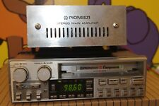 Pioneer KEX-73SDK+GM-40 with frame Component Centrate Vintage