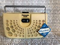 Vintage panasonic 8 track player, with original tag RS-833S 30 day Warrantee