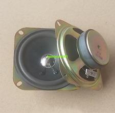 """2pcs 4"""" inch 8Ohm 8Ω 10W Square Full-range Audio Speaker Loudspeaker 102MM"""