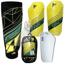 Adidas F50 Pro Lite Soccer Shin Guard-Compression Sleeve-Carry Bag Unisex Small