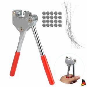 Plombenzange Set Bleiplombenzange Stahl für Blei Durchmesser Meter Dichtung DE