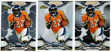 C.J. CJ Anderson Denver Broncos 3-Card lot 2015 Finest Refractor Non-Auto
