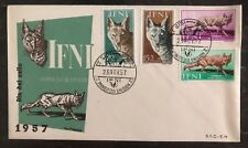 1957 Sidi Ifni Equatorial Guinea Spain First Day Cover FDC Wild Life