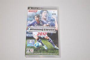 World Soccer Winning Eleven 2012 Japan Sony PSP game