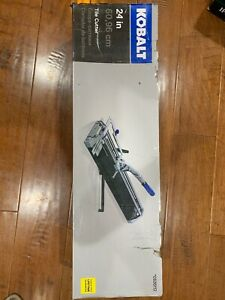 Kobalt 24-in Snap Cutter - Brand New - Free Fast Shipping