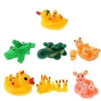 Colorful Mini Bathtime Rubber Duck Bath Squeaky Water Play Fun Kids NIUS