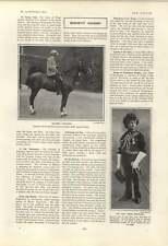 1901 Master Robert Abercromby Robin Cochrane Lord Frederick Blackwood