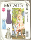 McCall's Sewing Pattern M6740 Miss Easy Hi - Low Dresses in Two Lengths Sz 4-12
