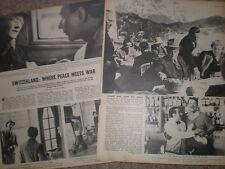 Photo article life in Switzerland as world war 2 rages around it 1945